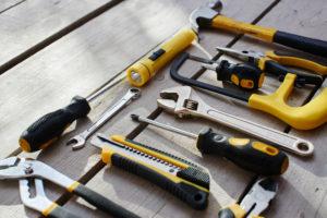 Buen mantenimiento de las herramientas