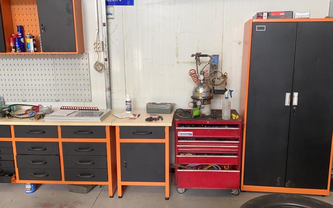 Clasificación de las herramientas de un taller mecánico